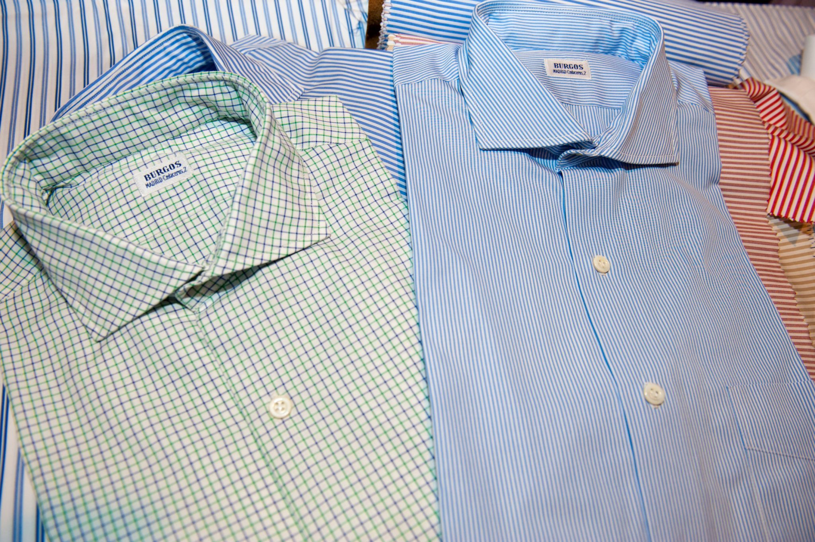 tipos de camisas a medida
